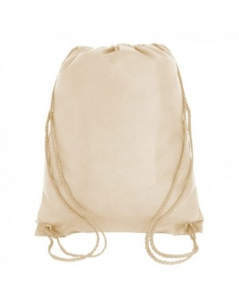 Drawstring Backpack Non Woven Cinch Party
