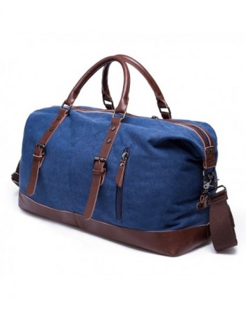 Unisexs Canvas Oversized Weekender Handbag