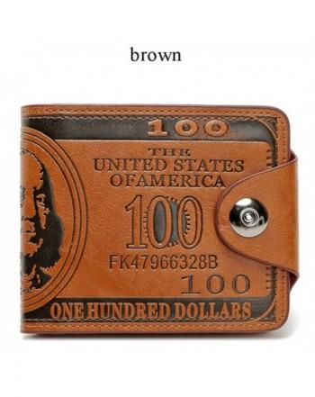 Sibalasi New Dollar Wallet Bifold Magnetic