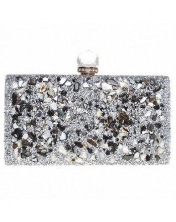 FASHIONROAD Evening Rhinestone Elegant Handbag