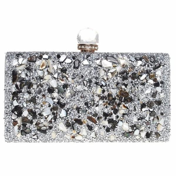 FASHIONROAD Evening Rhinestone Elegant Handbag