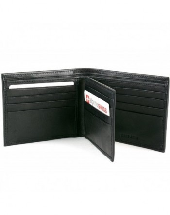 Leather Wallet Traveler Capacity Bifold