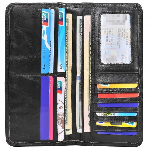 Yeeasy Vintage Genuine Leather Wallets