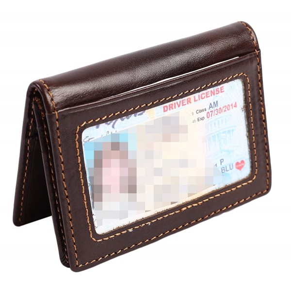 0df79244e46d06 ... RFID Mens Slim Front Pocket Wallet Genuine Leather Bifold ID/Credit  Card Holder - Coffee - CE182HLHSE7. Wallet Bifold Pocket Genuine Leather
