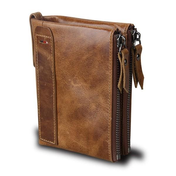 Vintage Leather RFID Blocking Wallet
