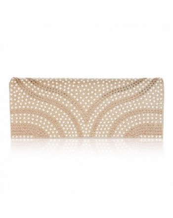 Damara Patterned Flap Over Dazzling Champagne