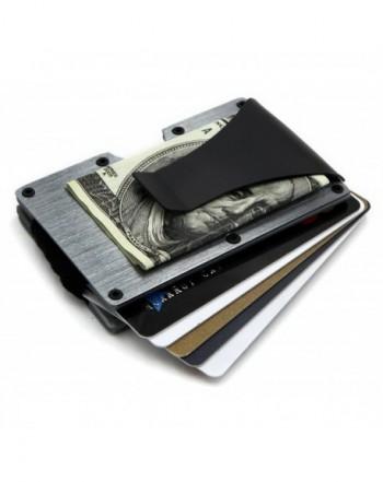 RFID Blocking Front Pocket Aluminum