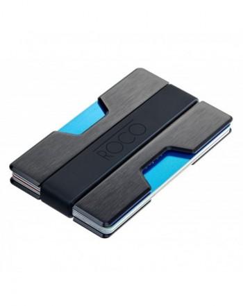 Minimalist Aluminum Wallet BLOCKING Money