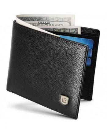 BOSTANTEN Wallets Genuine Blocking Minimalist