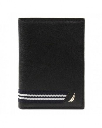 Nautica Genuine Leather Trifold Credit