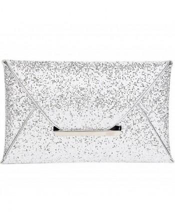 Jubileens Glitter Sequins Handbag Envelope