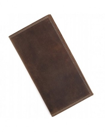 Vintage Genuine Leather Bifold Wallet