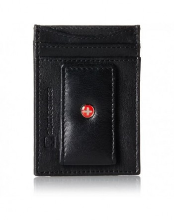 Alpine Swiss Genuine Leather pocket