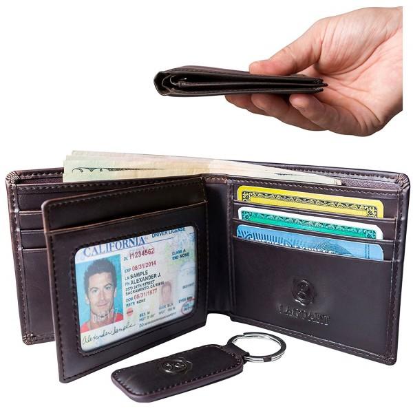Premium Leather Wallet Keychain Windows