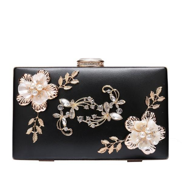 Evening Leather Elegant Handbag Wedding