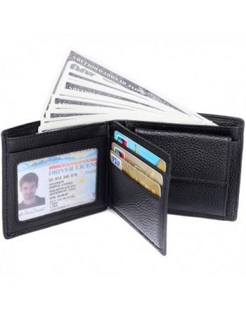 RFID Blocking Wallet Men Genuine