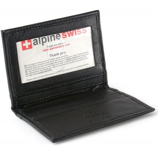 Alpine Swiss Pocket Wallet Business