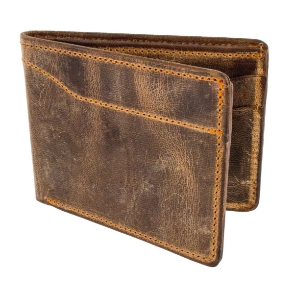 Hanks Bi Fold Leather Wallet 100 Year