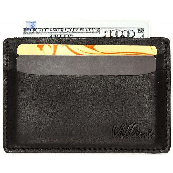 Villini Leather Slim Credit Holder