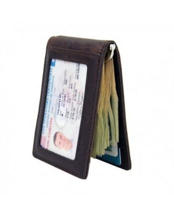 Wallet Blocking Genuine Leather Minimalist