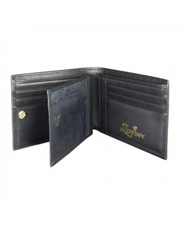 Luxury black credit card wallet