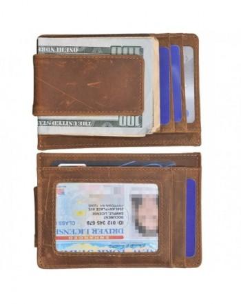 Wallet Genuine Leather Pocket Window