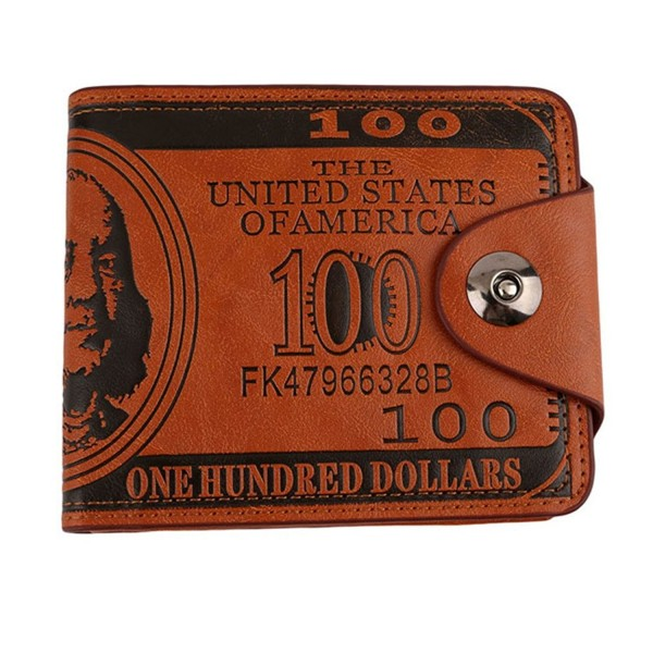 HENGSONG Dollar Leather Billfold Buttons