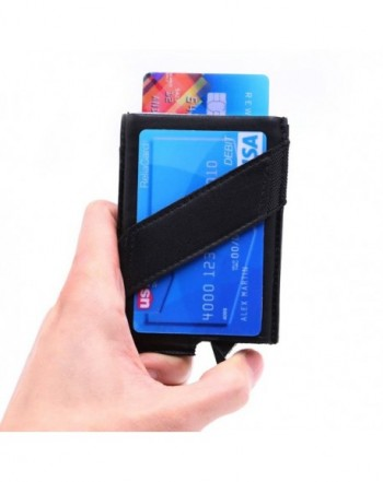 Dinghao Blocking Aluminum Wallet Automatic