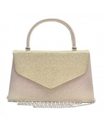 Dasein Clutches Cocktail Handbags Glittering