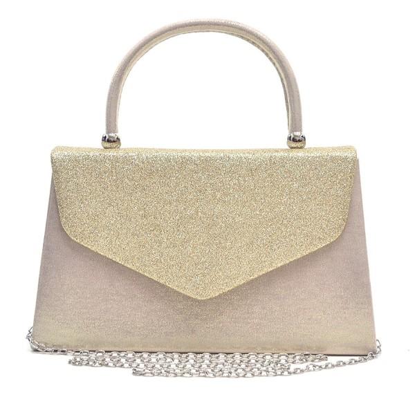 Dasein Clutches Cocktail Handbags Glittering