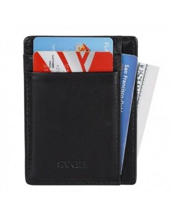 Blocking Minimalist Pocket Genuine Leather