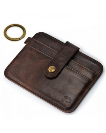 MoKong Pocket Minimalist Genuine Leather