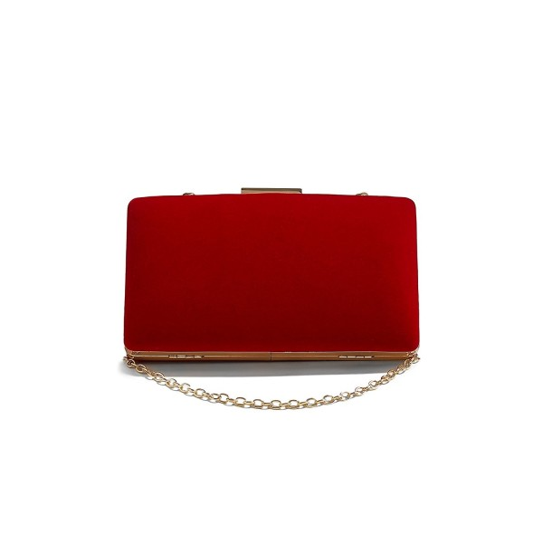 Velvet Clutch Evening Vintage Handbag