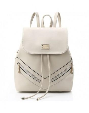 Leather Backpack Teenage College Shoulders