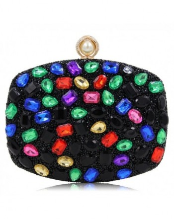 Sparkling Diamond Studded Crystal Multicoloured