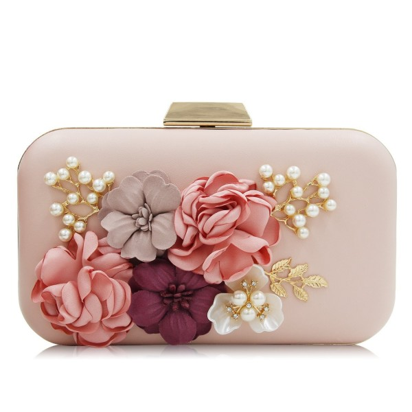 Milisente Evening Flower Clutch Purses