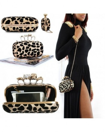 Leopard LLOP Shoulder Evening Handbag