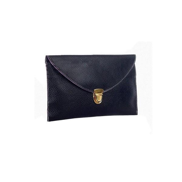Gaorui Envelope Shoulder Evening Purse_Black