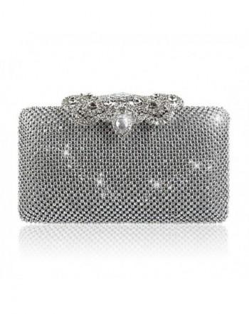 Rhinestone Sequins Glitter Evening Handbag