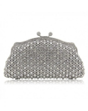 Milisente Evening Vintage Rhinstone Clutches