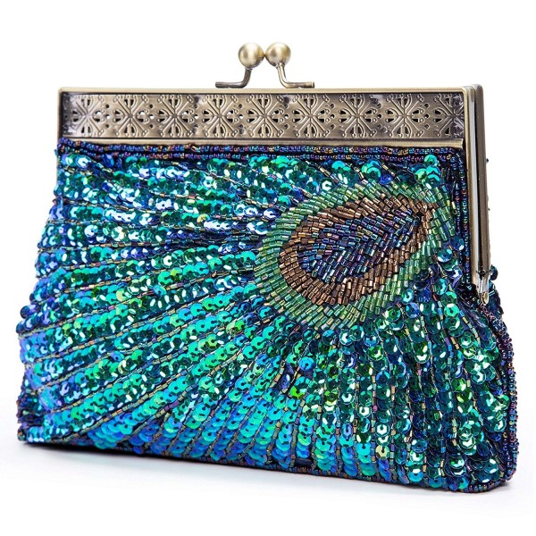 11e7a1a2b3d Kisschic Vintage Beaded Peacock Evening. . Kisschic Vintage Beaded Peacock  Evening. Women's Clutches & Evening Bags