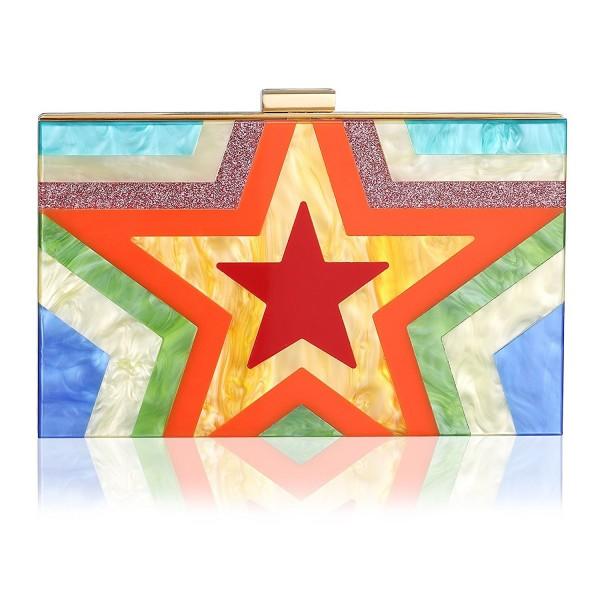Colorful Acrylic Handbag Evening Shoulder