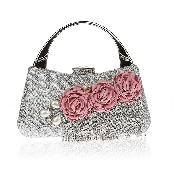 Flowered Tassels Handbags Wedding Evening