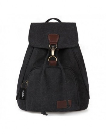 Tibes Small College Canvas Backpack