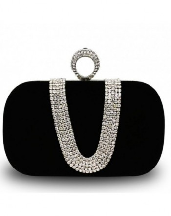 Rhinestone Elegant Evening Wedding Clutches