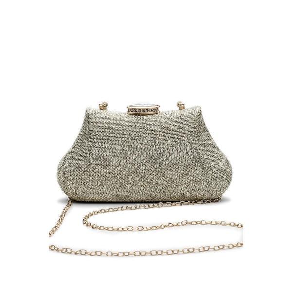 Women Clutch Evening Glitter Handbag