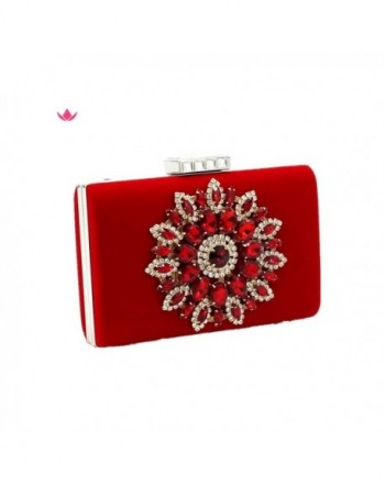 Shiratori Glitter Rhinestone Handbags Clutches