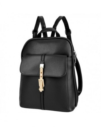 Leather Backpack Shoulder Handbag Stylish