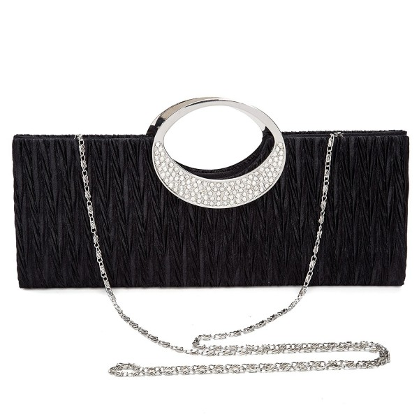 333f9b3ecbc Chichitop Rhinestone Pleated Evening Handbag. . Chichitop Rhinestone  Pleated Evening Handbag. Women s Clutches   Evening Bags