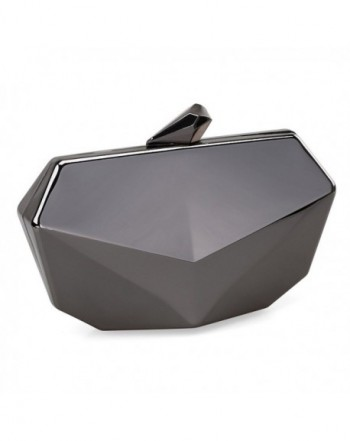 Metallic Shaped Evening Handbag Detachable